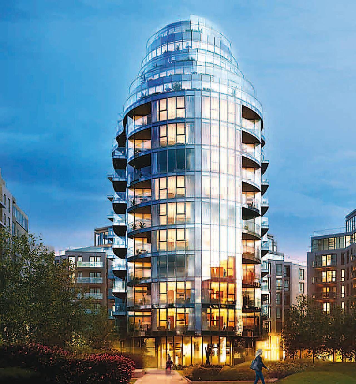 Gateway Gardens Apartments: 3 Bedroom Flat For Sale, Pinnacle House, Battersea Reach