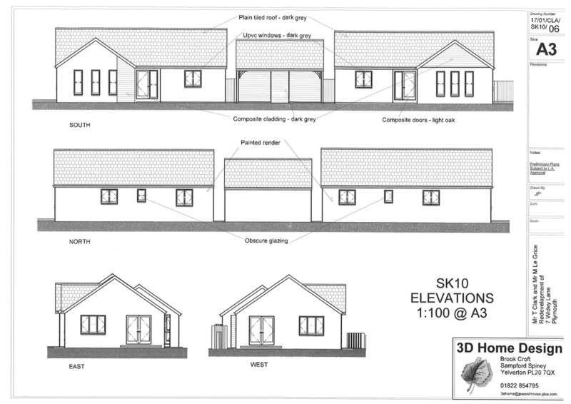 4 Bedroom Land For Sale Widey Lane Plymouth Pl6 5jr