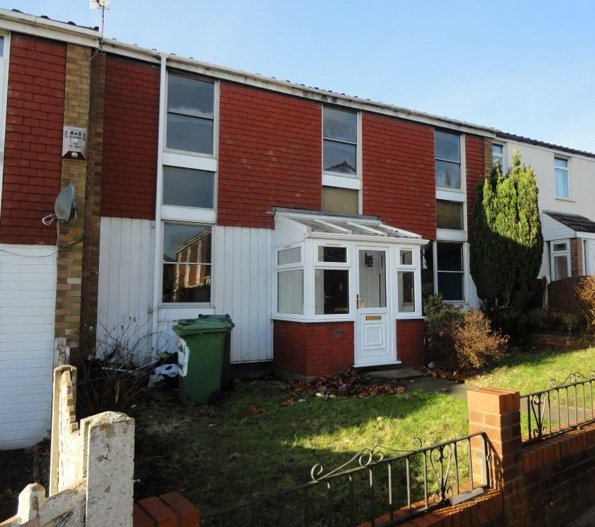 3 Bedroom Terraced House For Sale, Harden Road, Bloxwich