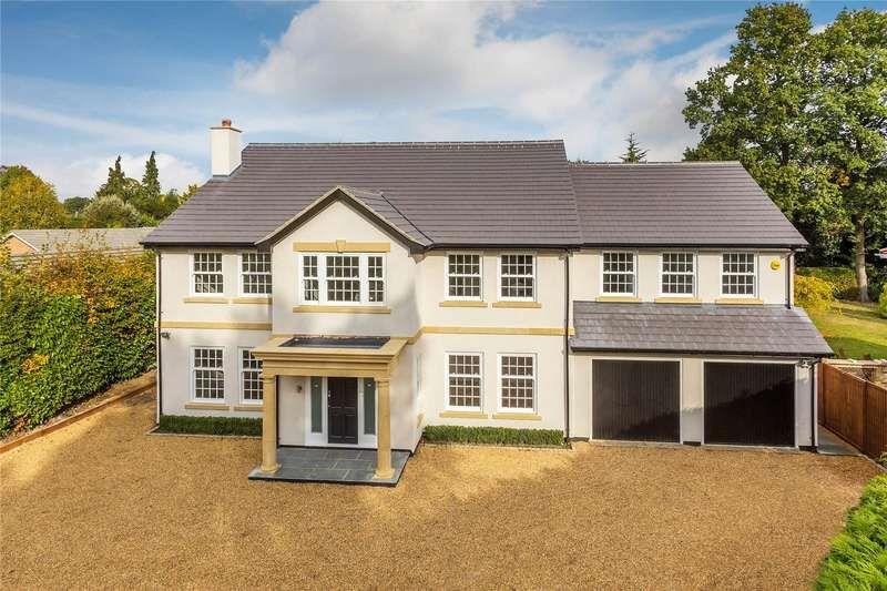 5 Bedroom Detached House For Sale Heathfield Close Woking